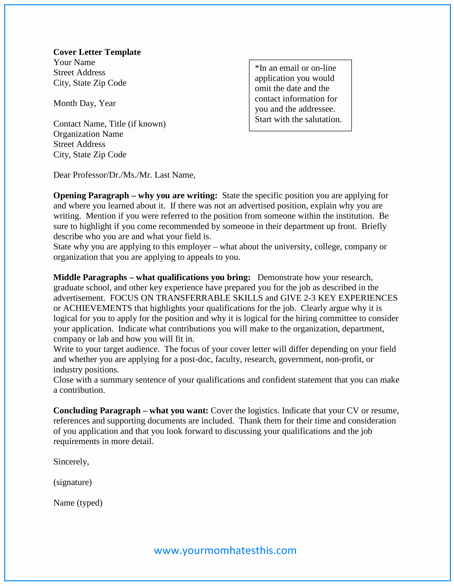 Cover Letter Template Doc Best Of Download Cover Letter Samples