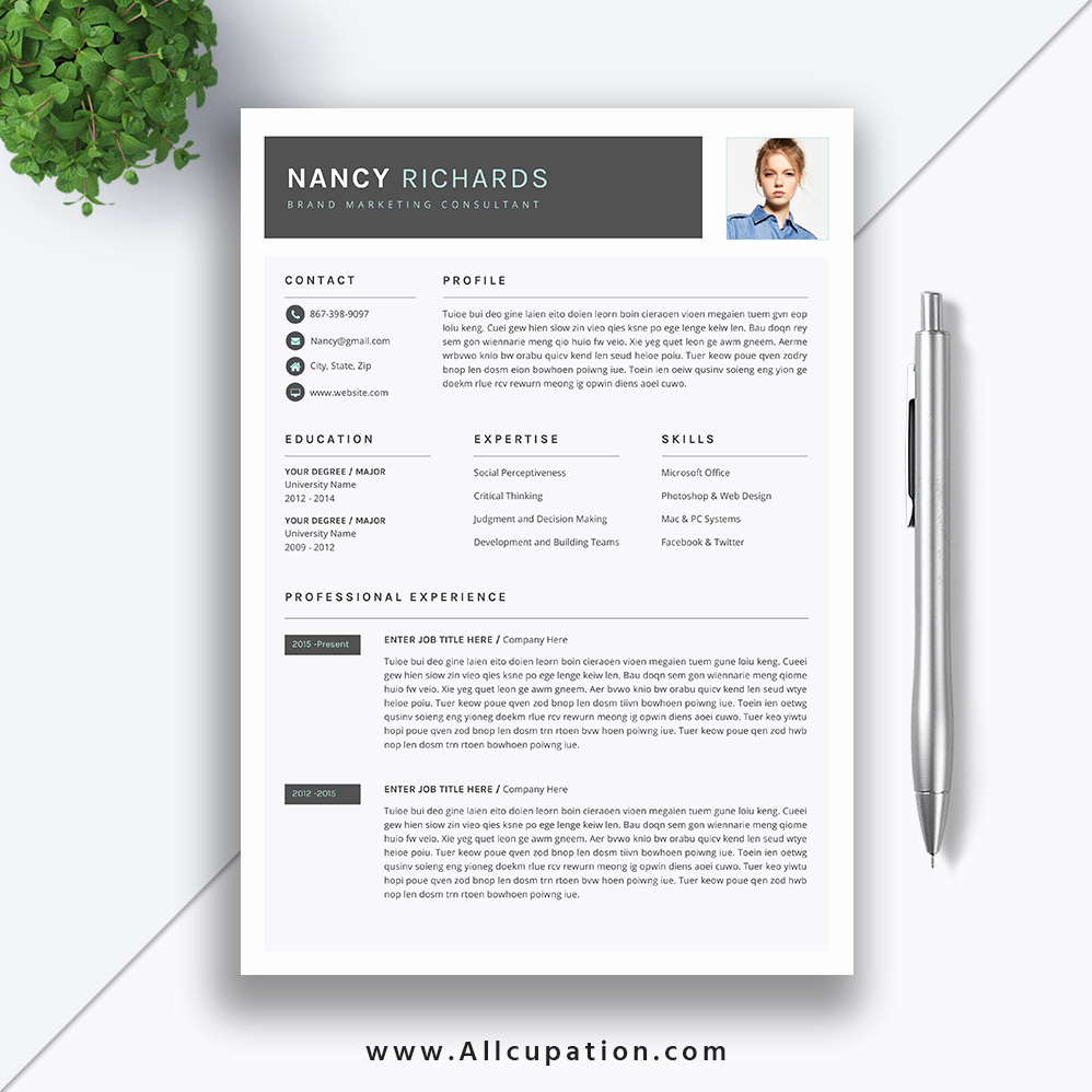 Cover Letter Word Template Awesome Creative Resume Template Cover Letter Word Modern