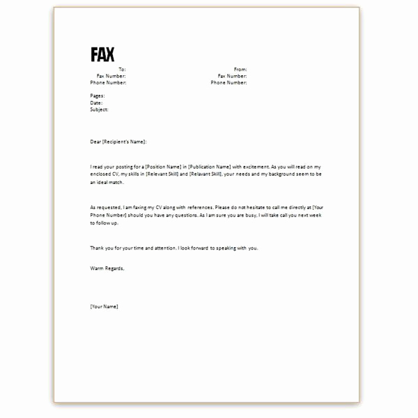 Cover Letter Word Template Beautiful Resume Cover Letter Template Word
