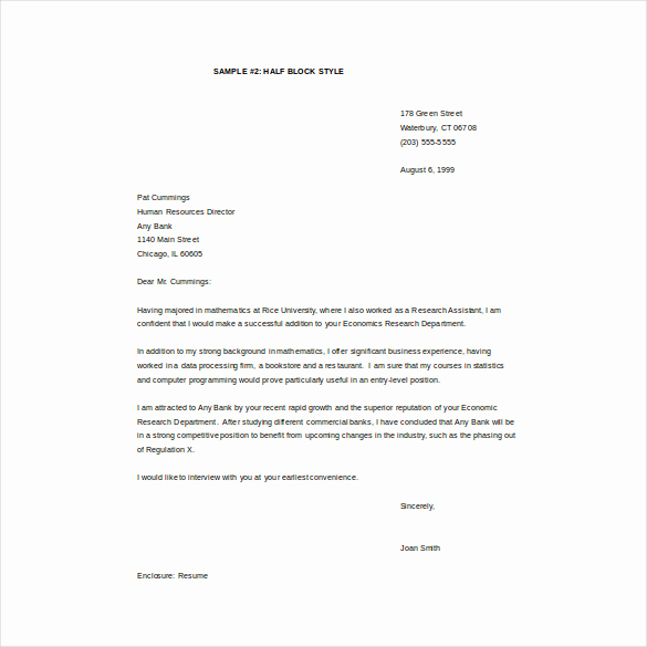 Cover Letter Word Template Inspirational Email Cover Letter Template 10 Free Word Pdf Documents