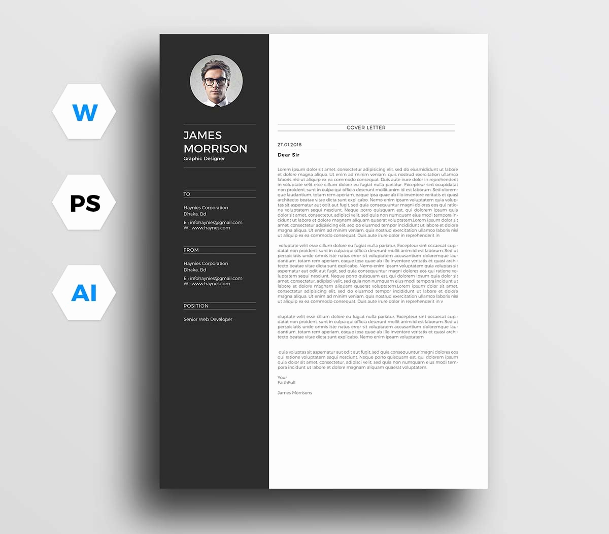 Cover Letter Word Template New 12 Cover Letter Templates for Word [best Free Downloadable