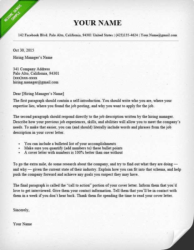 Cover Letter Word Template New 40 Battle Tested Cover Letter Templates for Ms Word
