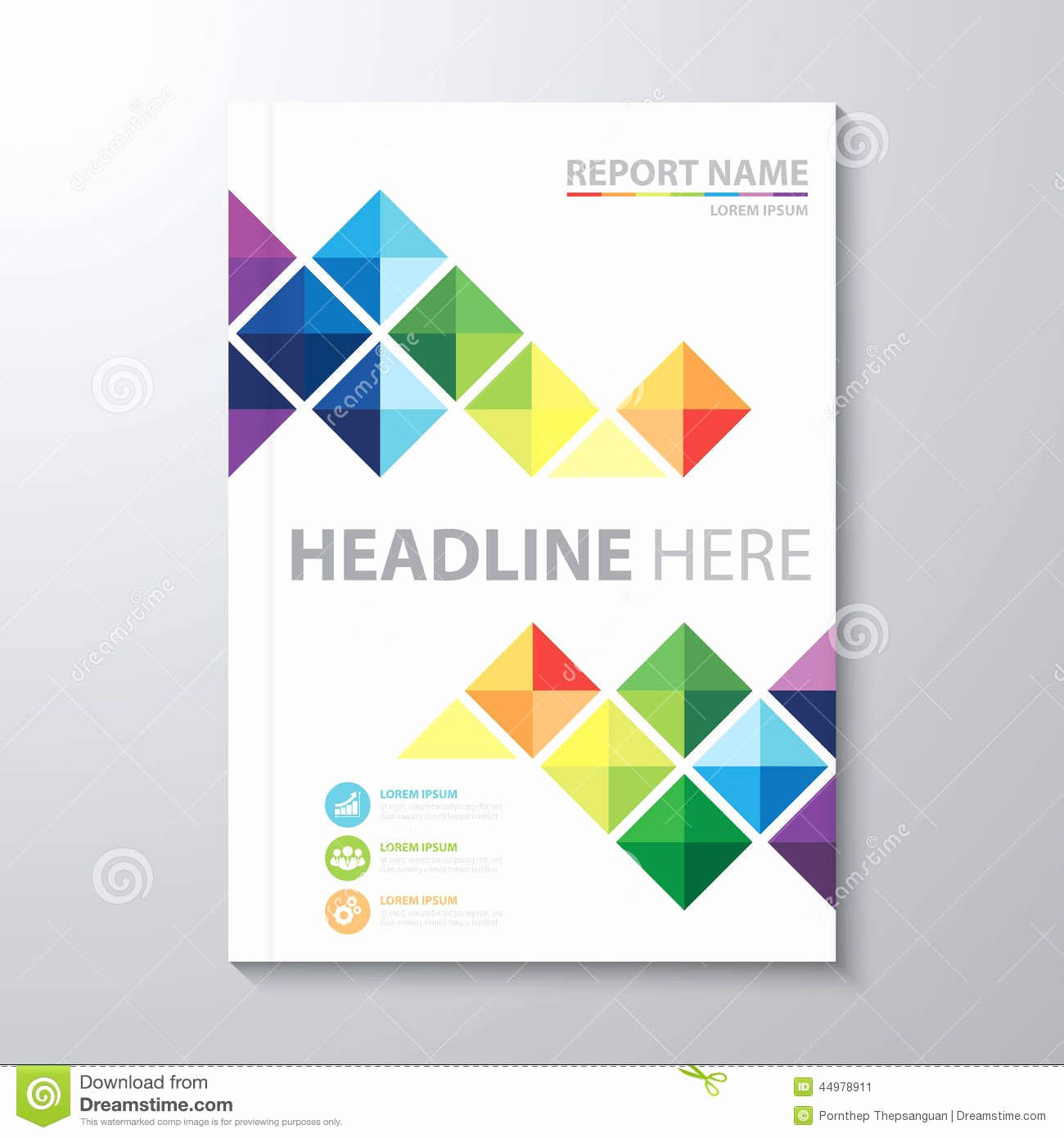 Cover Page Template Word Awesome Annual Report Cover Design Template Cover