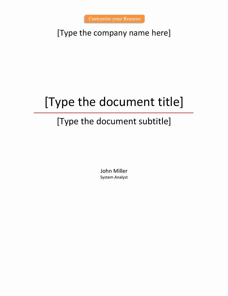 Cover Page Template Word Inspirational 39 Amazing Cover Page Templates Word Psd Template Lab