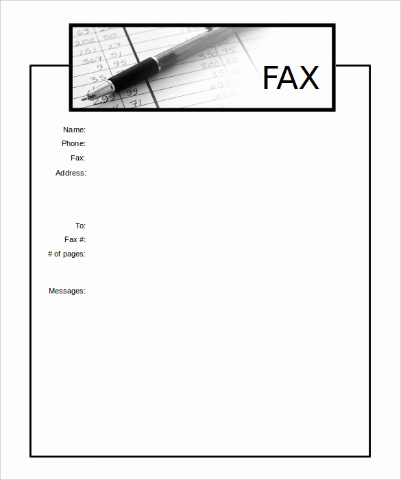 Cover Page Template Word New 13 Printable Fax Cover Sheet Templates – Free Sample