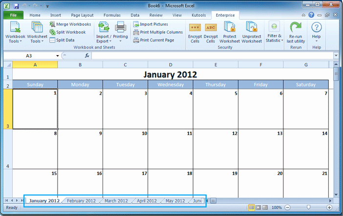 Create A Calendar In Word Awesome How to Create A Calendar In Excel
