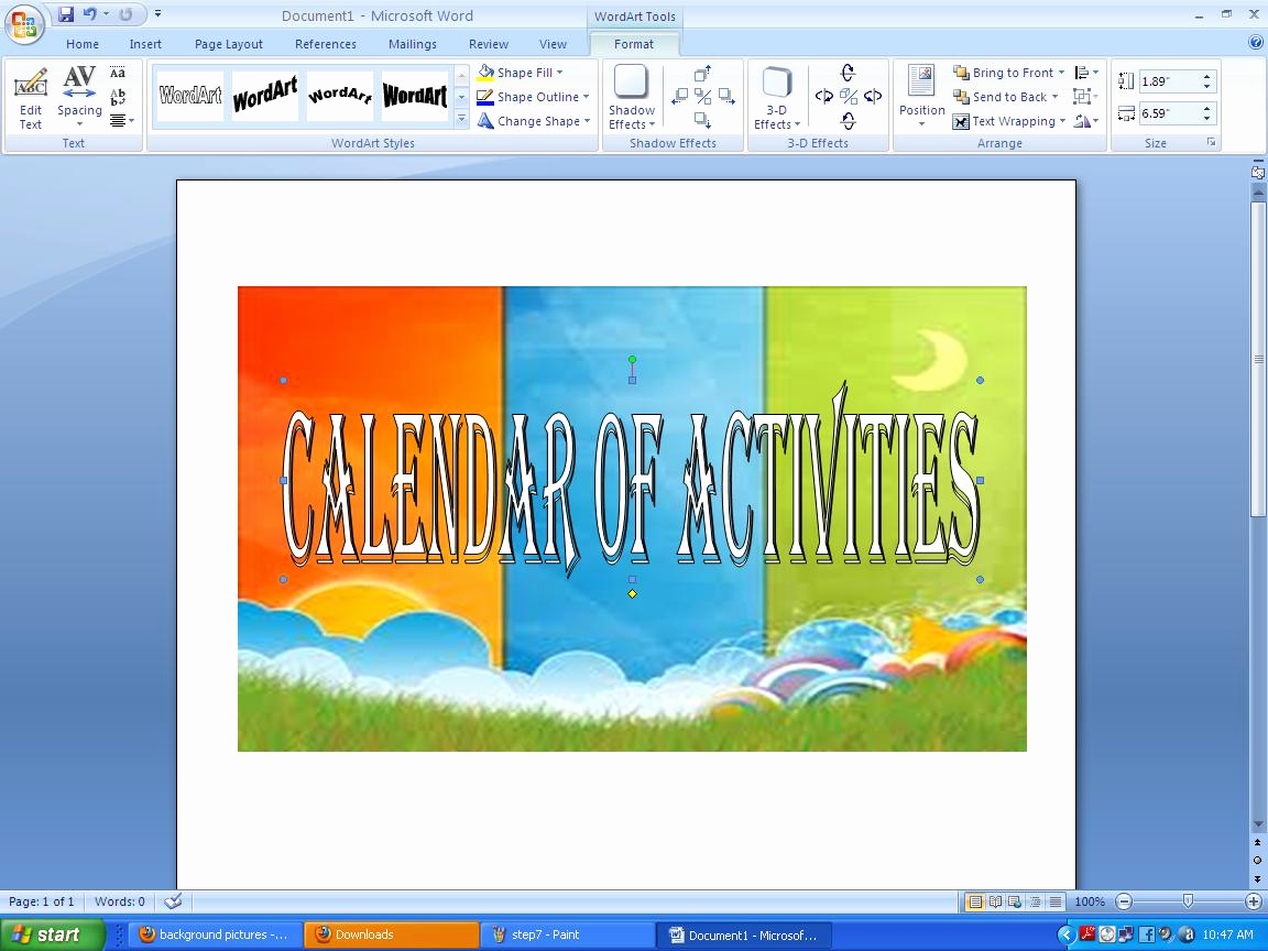 Create A Calendar In Word Luxury Steps On How to Make Calendar Of Activities Using