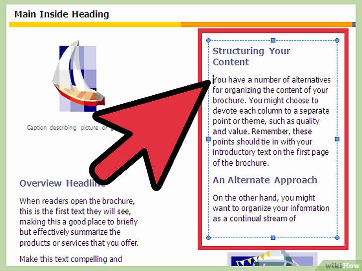 Create A Flyer In Word Awesome E Creare Un Opuscolo Con Microsoft Word 2007