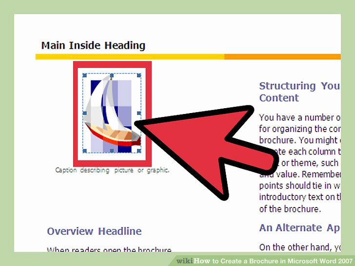 Create A Flyer In Word Lovely How to Create A Brochure In Microsoft Word 2007 with Samples