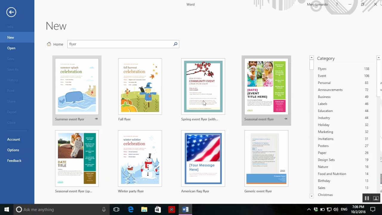 Create A Flyer In Word Luxury How to Create A Flyer On Word 2016