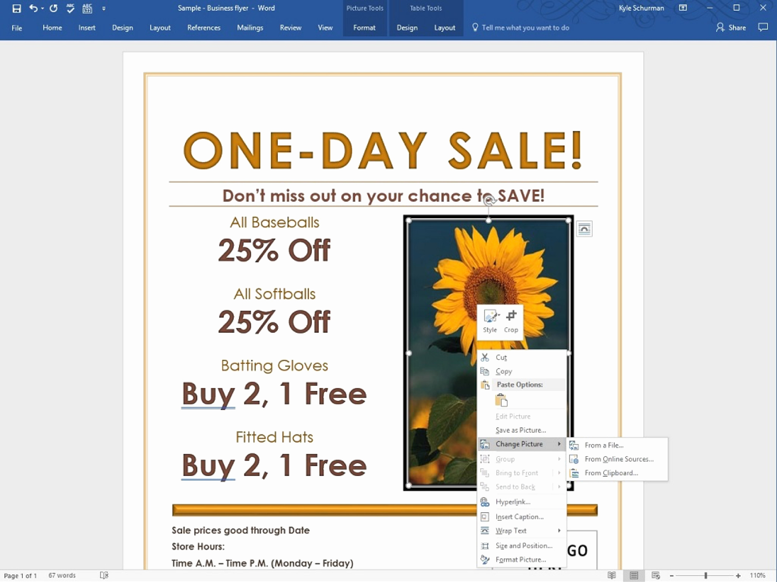 Create A Flyer In Word New How to Make A Business Flyer In Word