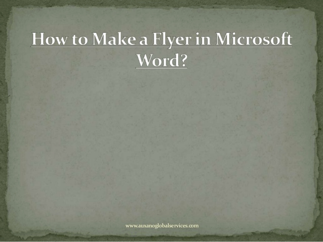 Create A Flyer In Word Unique How to Make A Flyer In Microsoft Word