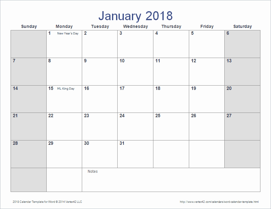 Create Calendar In Word Inspirational 2018 Printable Calendars Words Templates