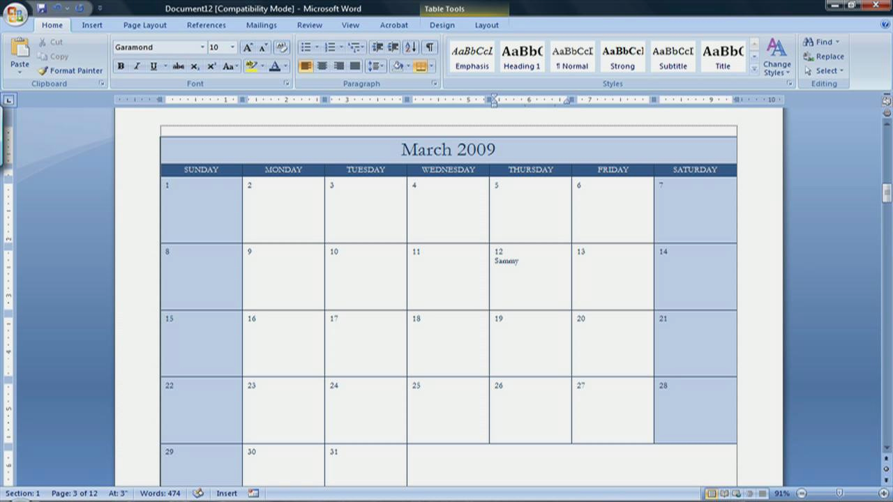 Create Calendar In Word Luxury Best S Of Create A Blank Calendar Free Printable