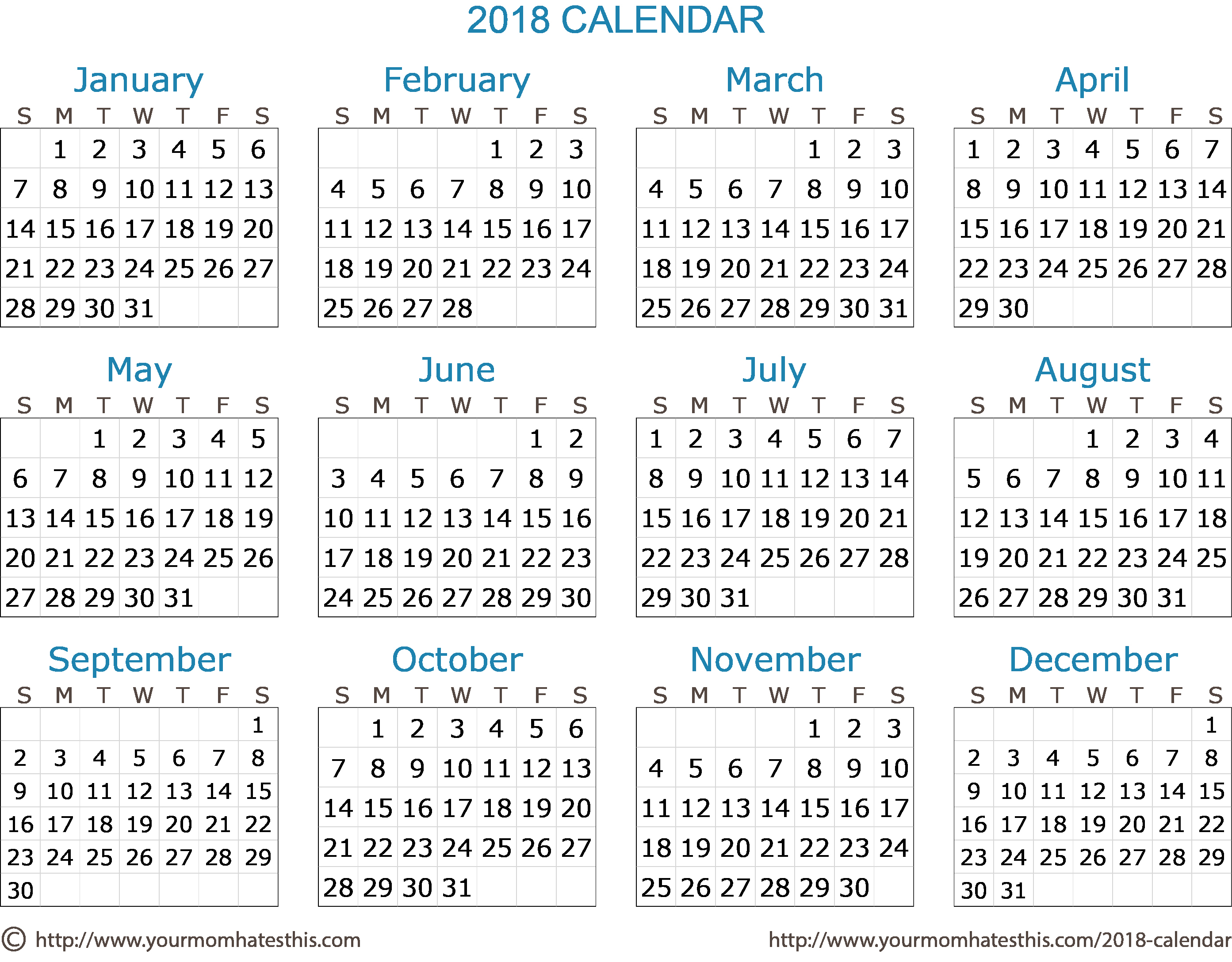 Create Calendar In Word Unique 2018 Calendar – Download Quality Calendars