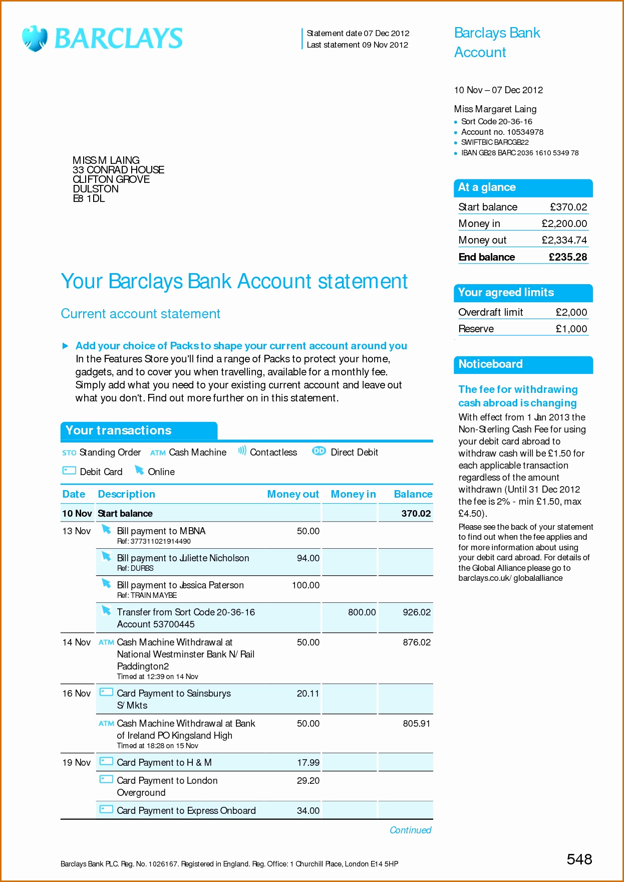Create Fake Bank Statement Template Awesome Chase Bank Statement Template Resume format Personal