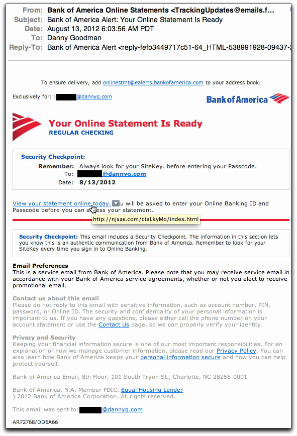 Create Fake Bank Statement Template Elegant Spam Wars Our Last Best Chance to Defeat Spammers