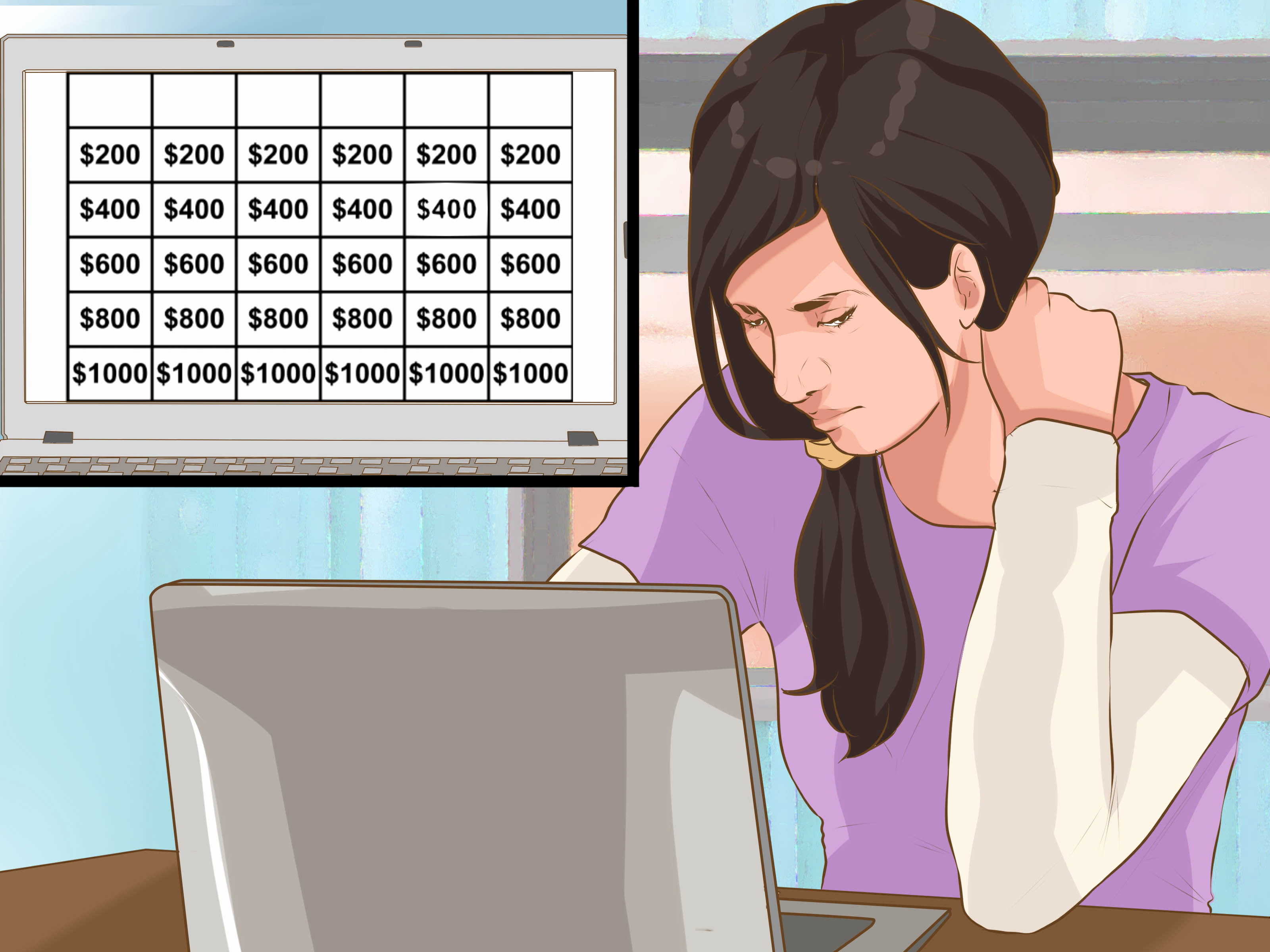 Create Your Own Jeopardy Game Awesome 3 Ways to Make A Jeopardy Game Wikihow