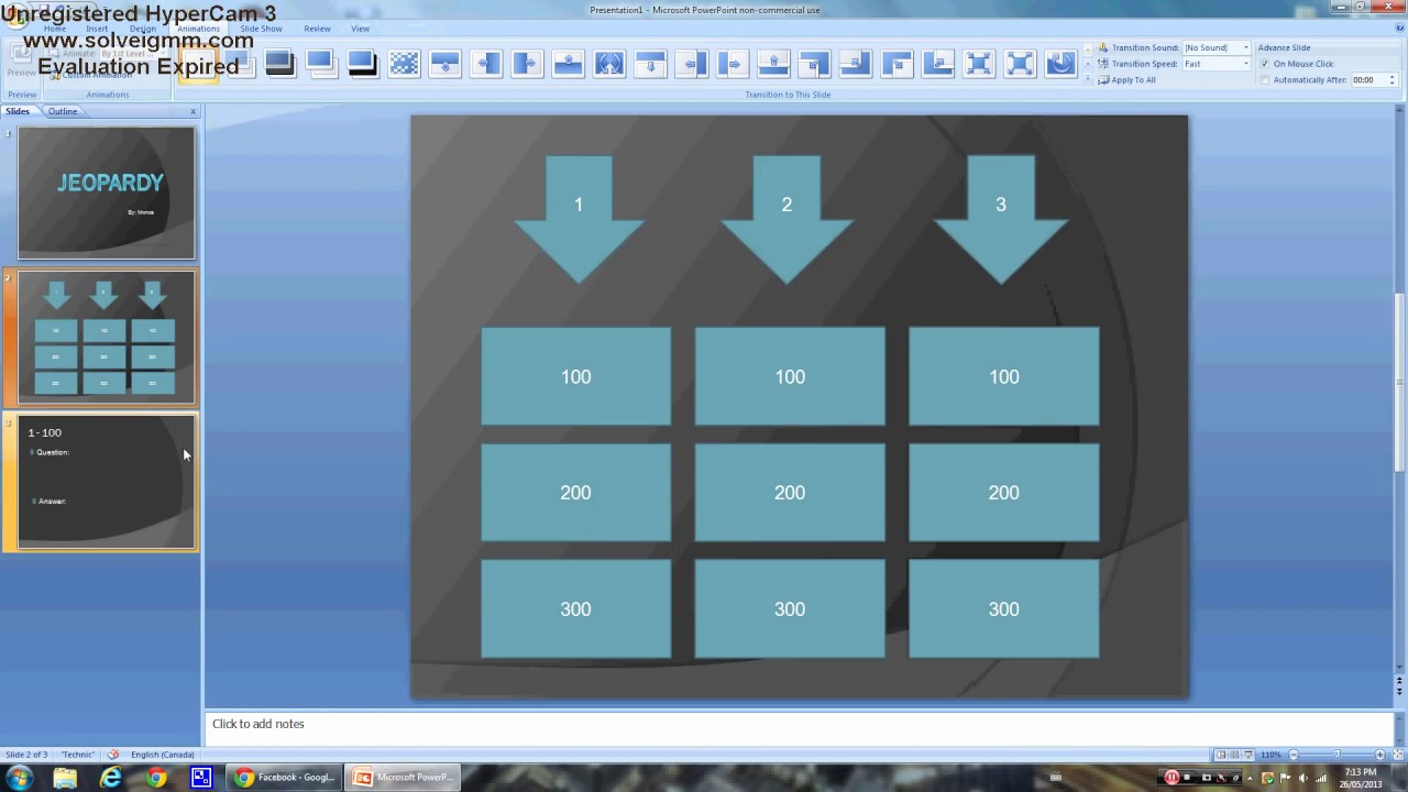 Create Your Own Jeopardy Game Best Of Power Point How to Create An Easy Jeopardy Game