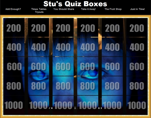 Create Your Own Jeopardy Game Best Of Stu S Quiz Boxes