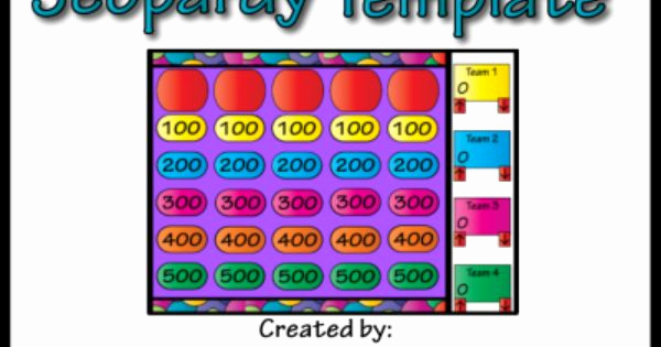 Create Your Own Jeopardy Game Elegant Do You Want to Create Your Own Jeopardy Games but aren T