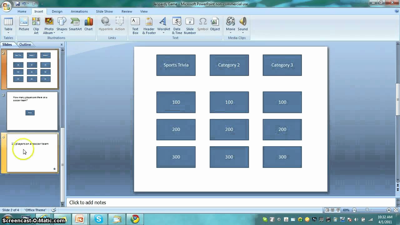Create Your Own Jeopardy Game Unique How to Make A Jeopardy Game In Powerpoint