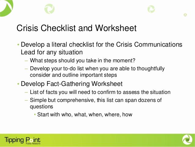 Crisis Communication Plan Template Unique Crisis Munications Planning
