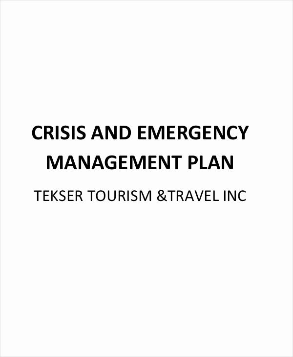 Crisis Management Plan Template Fresh 11 Crisis Management Plan Templates Sample Word Google