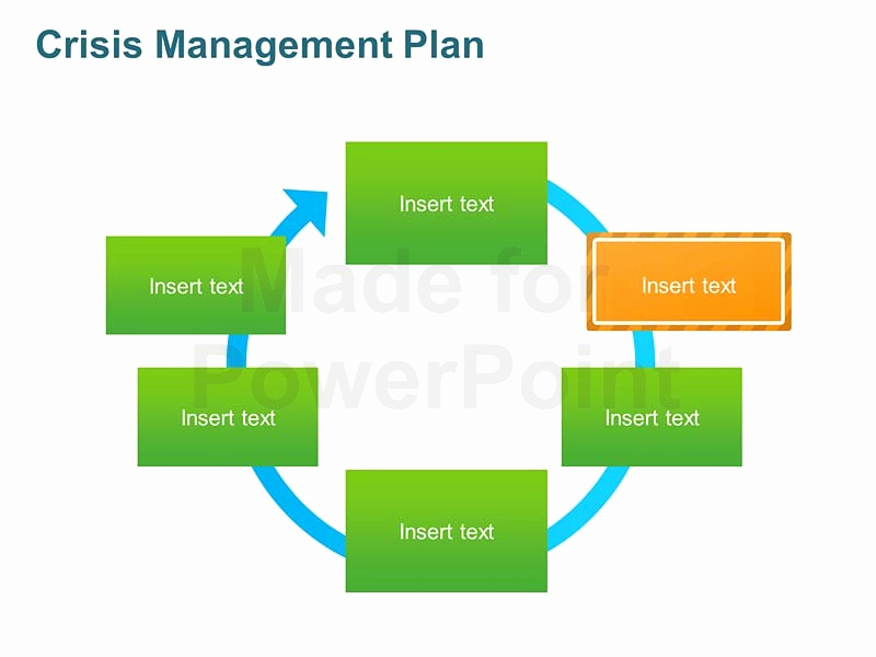 Crisis Management Plan Template New Crisis Management Plan Editable Template for Ppt