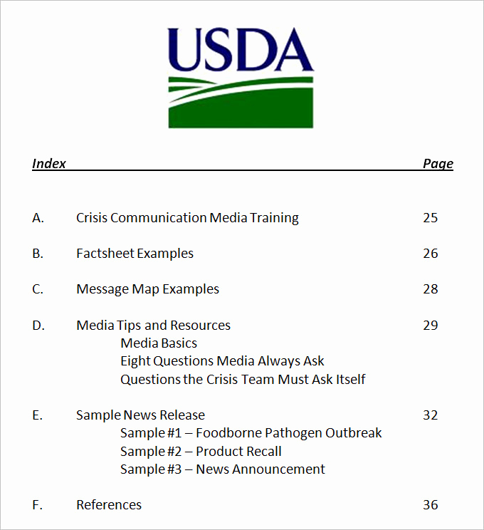 Crisis Management Plan Template Unique 3 Crisis Munication Plan Templates Doc Pdf