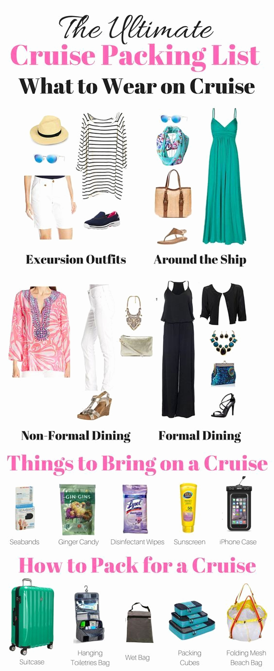Cruise Packing List Pdf Luxury Best 25 Cruise Packing Lists Ideas On Pinterest