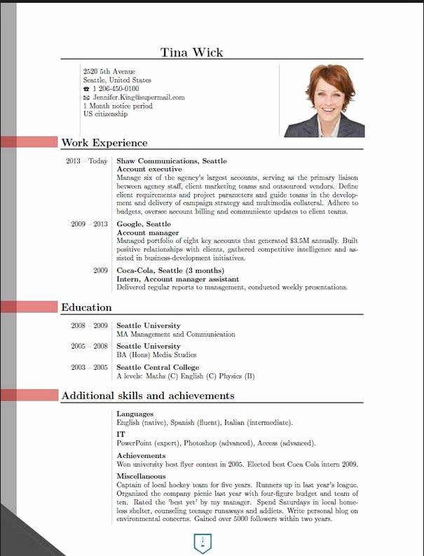 Curriculum Vitae Sample format Beautiful New Cv format 2016 2 Cv format New