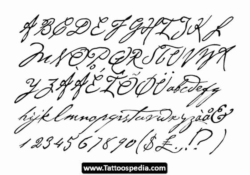 Cursive Fonts for Tattoos Inspirational Pin Cursive Fonts for Tattoos Generator Pinterest
