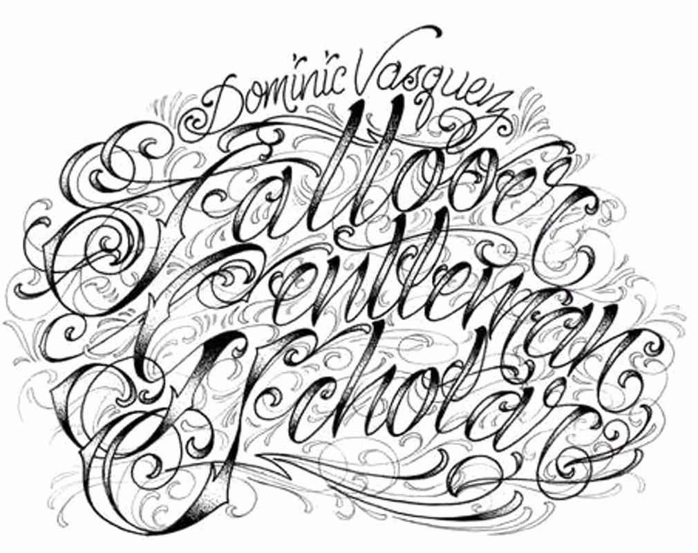Cursive Fonts for Tattoos Lovely Tattoo Lettering for android Apk Download