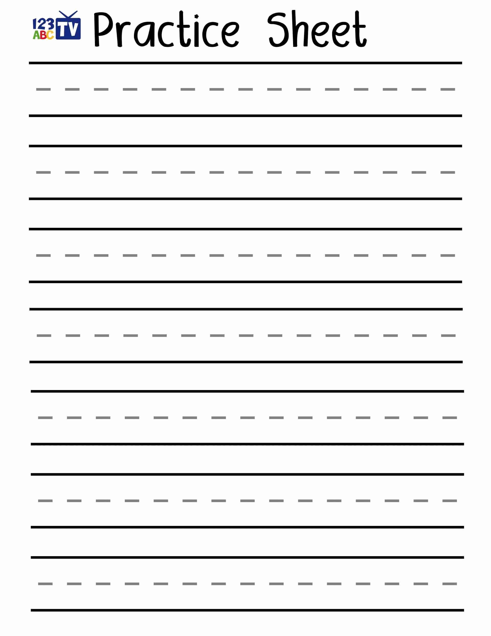 Cursive Writing Practice Pdf Elegant Fresh English Handwriting Practice Pdf