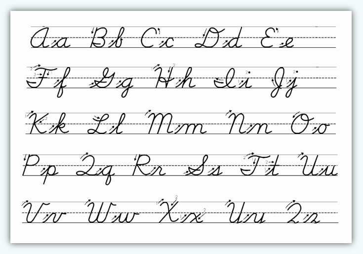 Cursive Writing Practice Pdf Inspirational Cursive Letters Practice Sheets Pdf