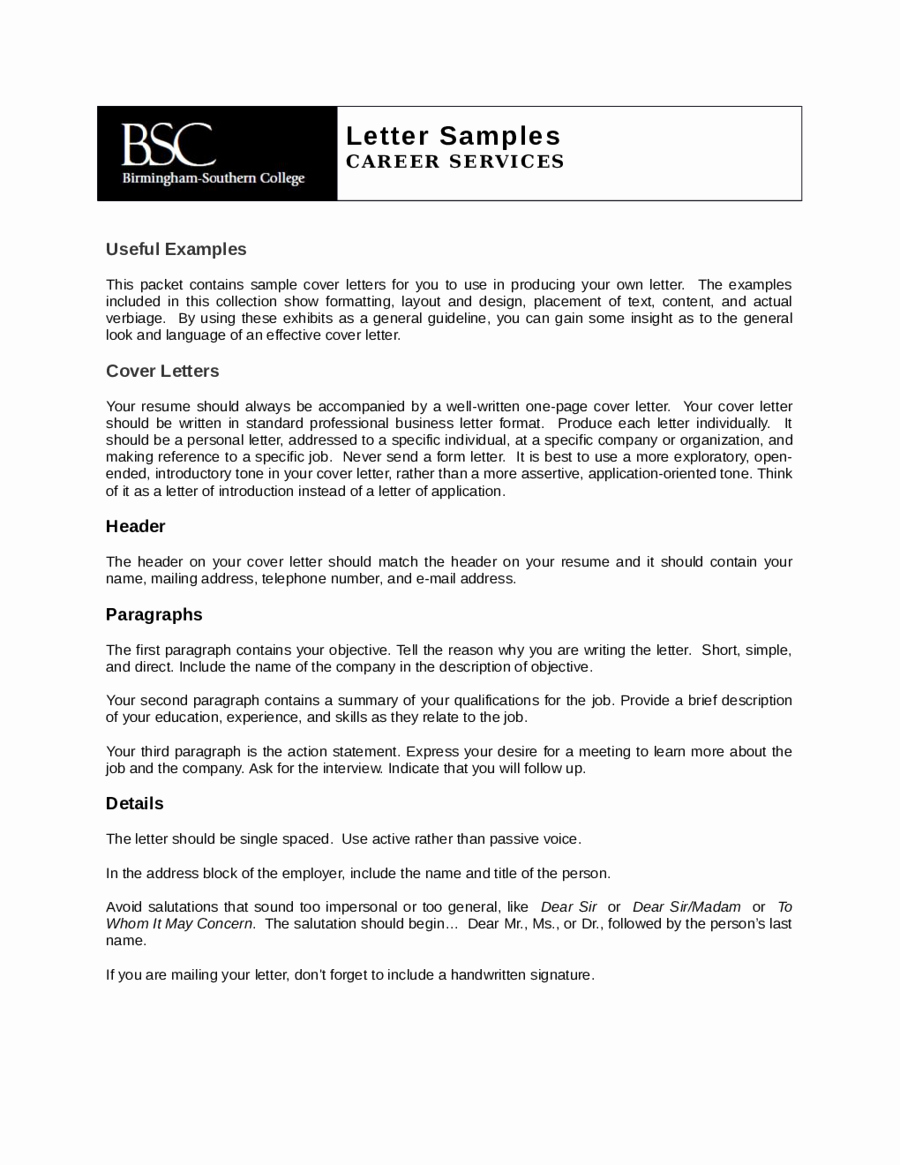 Customer Service Cover Letter Examples Awesome 2019 Customer Service Cover Letter Fillable Printable
