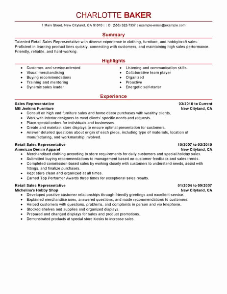 Customer Service Resume Template Inspirational 15 Amazing Customer Service Resume Examples