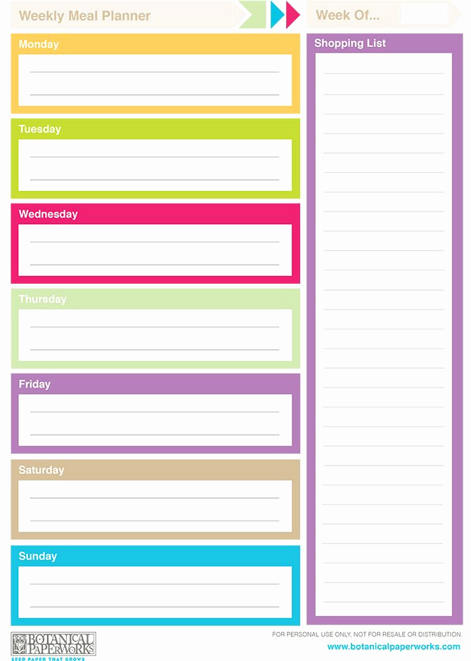 Daily Planner Printable Pdf Unique Free Printable 2014 Weekly Planners