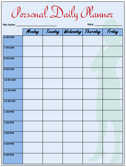 Daily Planner Template Word Elegant Daily Planner Template that Helps to Keep You On Track