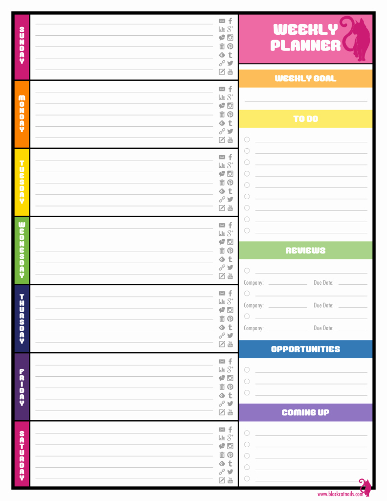 Daily Planner Template Word Unique Weekly Planner Template Word Best Agenda Templates
