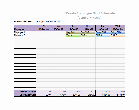 Daily Schedule Template Excel Fresh 55 Schedule Templates & Samples Word Excel Pdf
