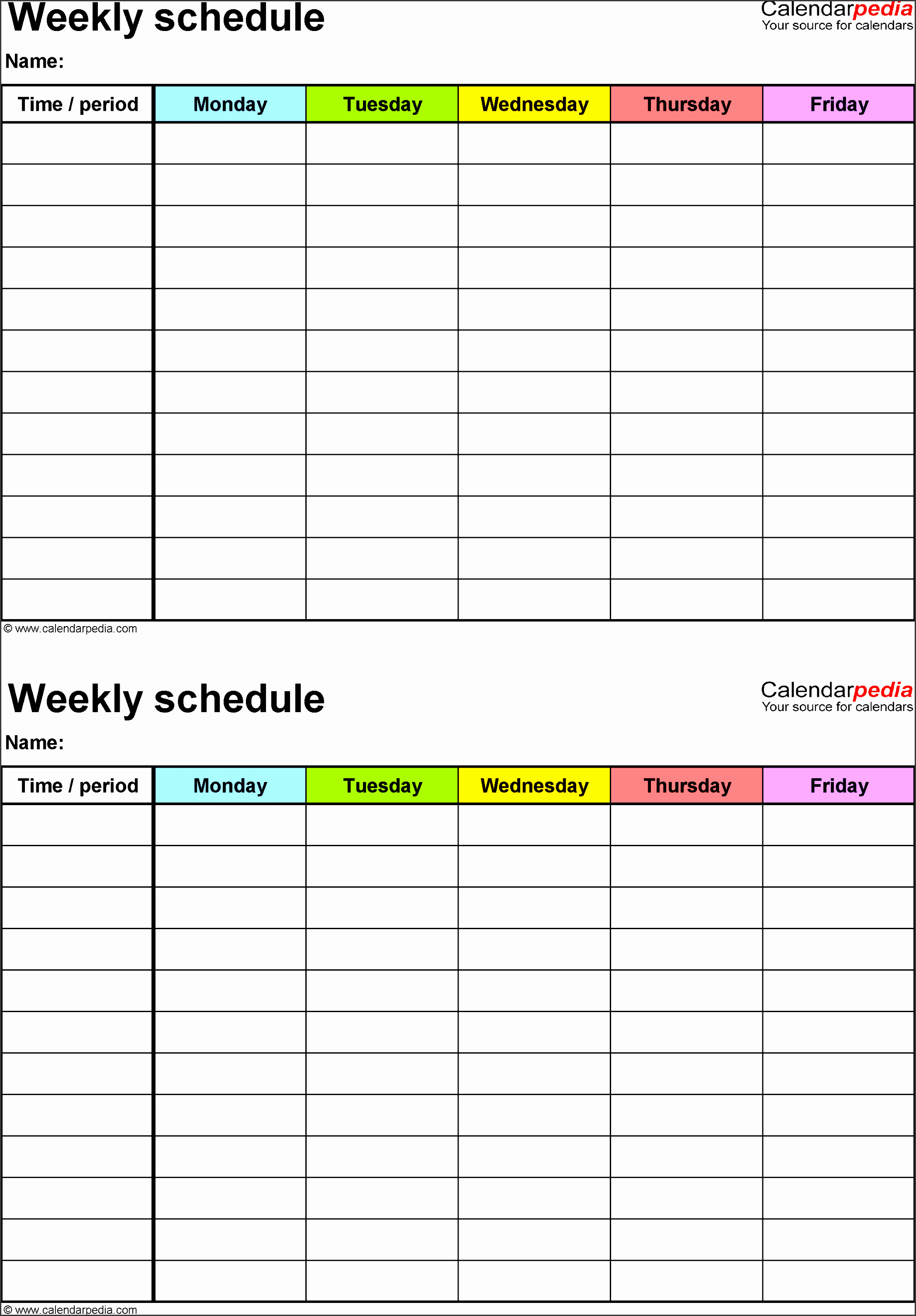 Daily Schedule Template Excel Inspirational 10 How to Create Daily Work Schedule In Excel