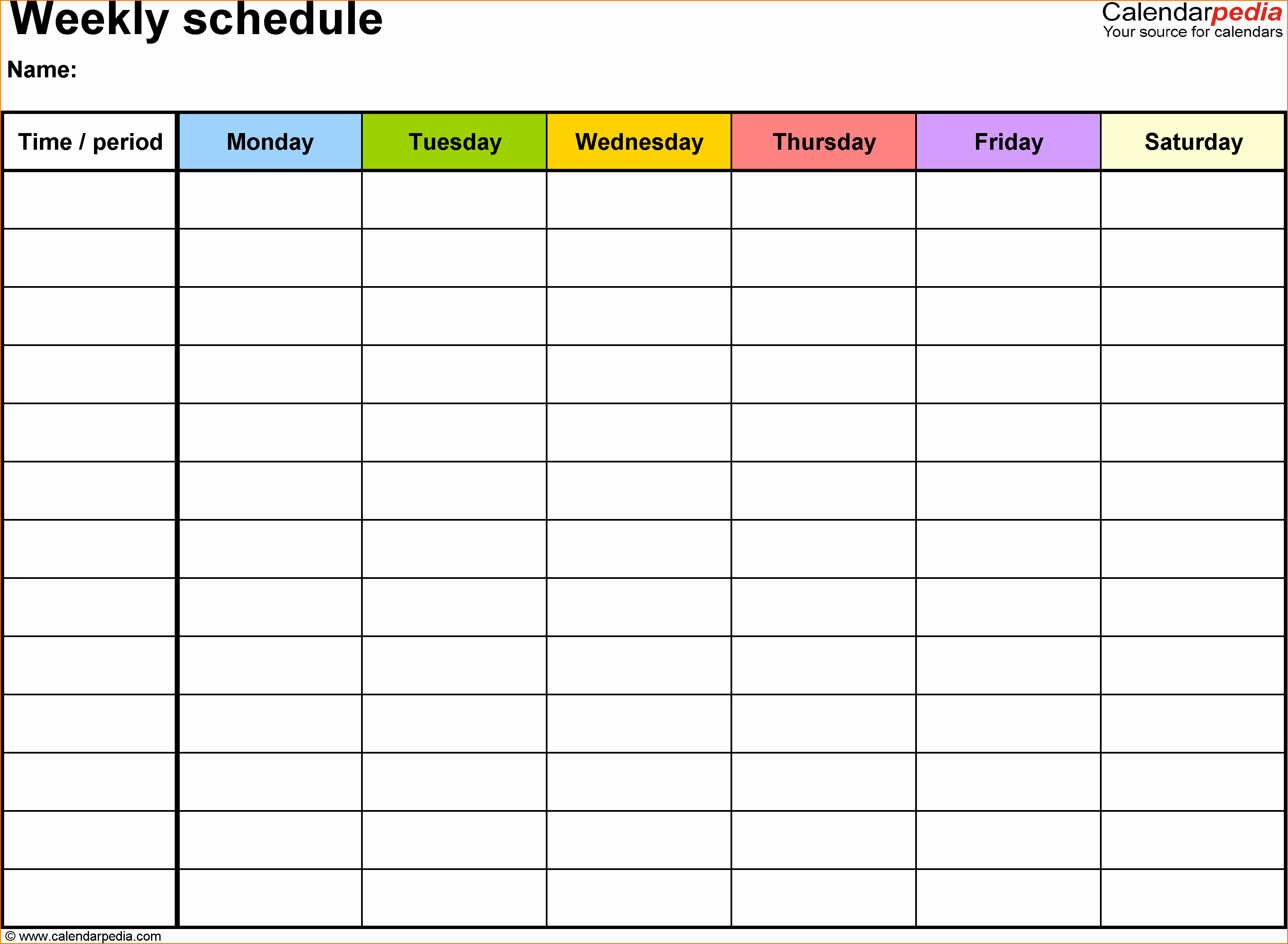 Daily Schedule Template Pdf Beautiful 5 Daily Schedule Template Pdf