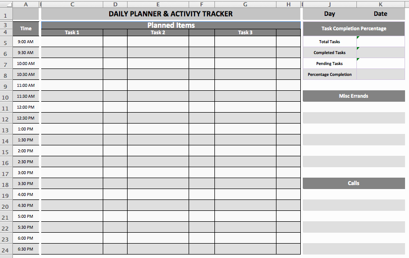 Daily Task List Template Inspirational Daily Task Planner Template Microsoft Fice Templates