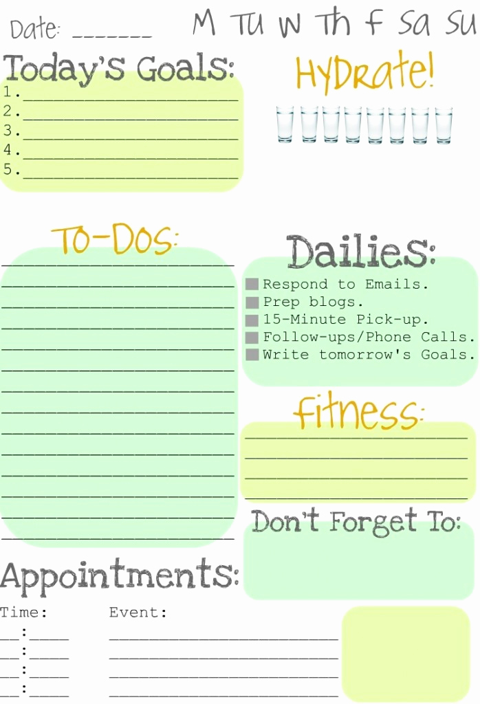 Daily todo List Template Best Of Making to Do Lists Fun Clean and Scentsible