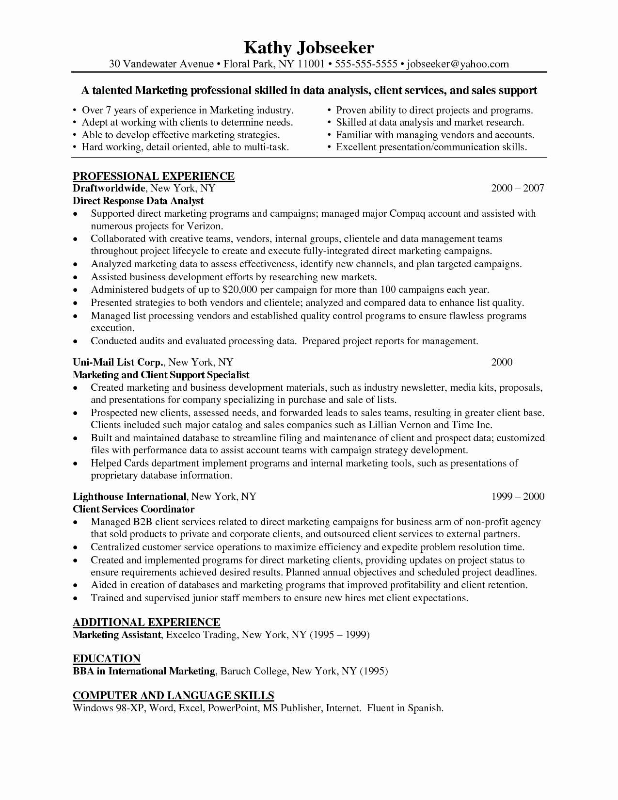 Data Analyst Resume Entry Level Luxury Data Analyst Skills Resume