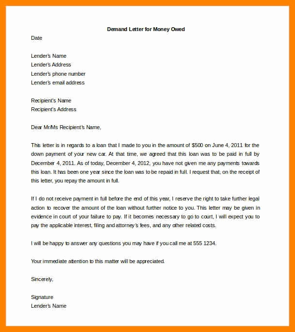 Demand Letter for Money Owed Beautiful Demand Letter Sample for Money Owed Hunt Hankk