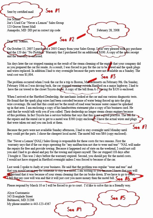 demand letter template