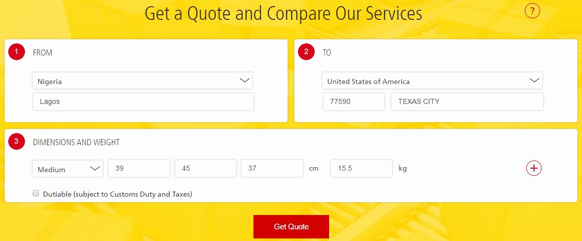 Dhl Shipping Cost Per Kg Luxury Shipping Costs Prices In Nigeria Ems Nipost